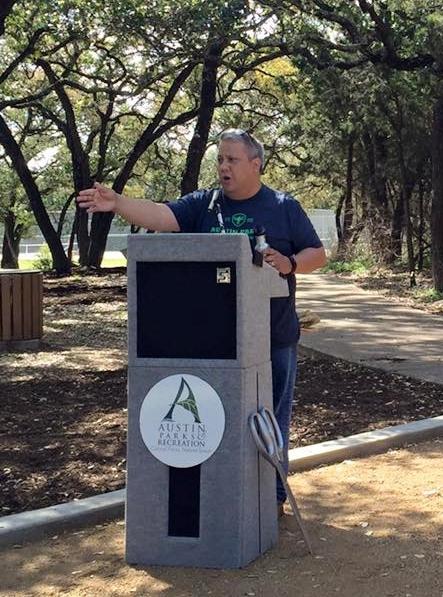 Rich DePalma Austin Parks and Recreation Dick Nichols Park