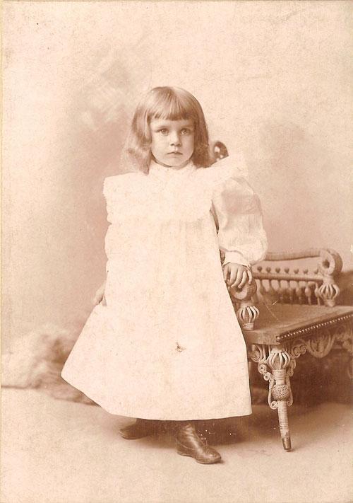 September 27, 1894 / Orange, N.J.  Adele Mildred Bray, By Brady Orange, N.J.