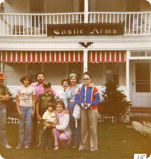 June 1979 / Ocean Grove, N.J.  L-R rear Michael Earle, Anna M. Walter, Richard Walter, Jeffrey Earle, Sandra P. Walter, Carole W. Earle, Lea W. Gregory, front Sarah A. Walter, Ruth J. Walter