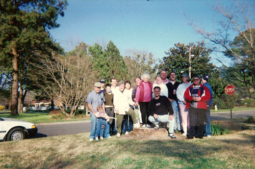 March 8-9, 1997 / 1601 Crescent Dr. Elizabeth City, N.C.  Ruth J. Walter's 80th birthday celebration. Families Walter, Walter-Johnson, Earle.