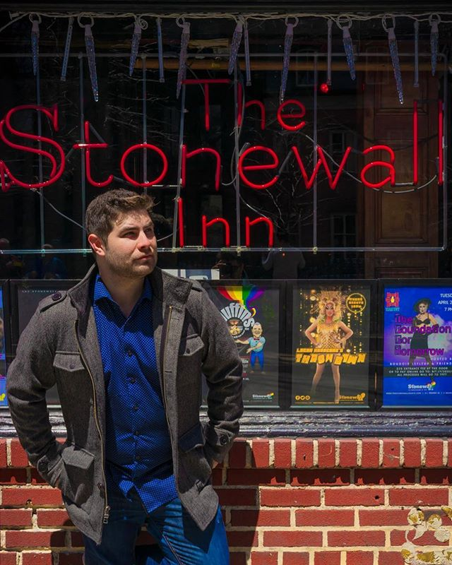 Happy Pride! A couple months ago I got to visit Stonewall, and I'm still processing everything from over the past year, but I'm glad to be looking forward.