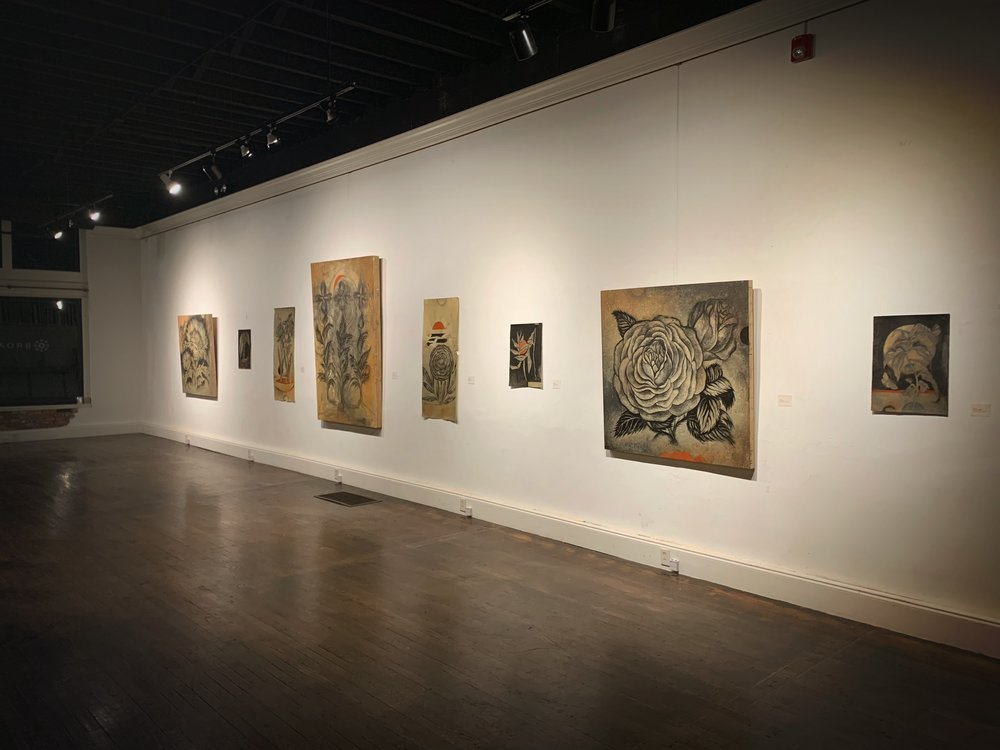 Pictured: From November 2018 through January 2019 Chris Koelle is presenting a major exhibition of new drawings entitled  Taught to Fall .