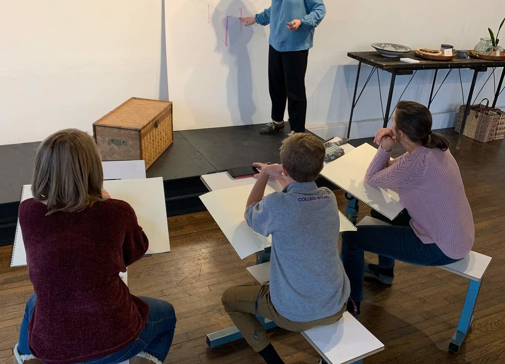 Beginning Drawing - 5:30-7:45PM • ThursdaysJan. 31 – Apr. 18, 2019