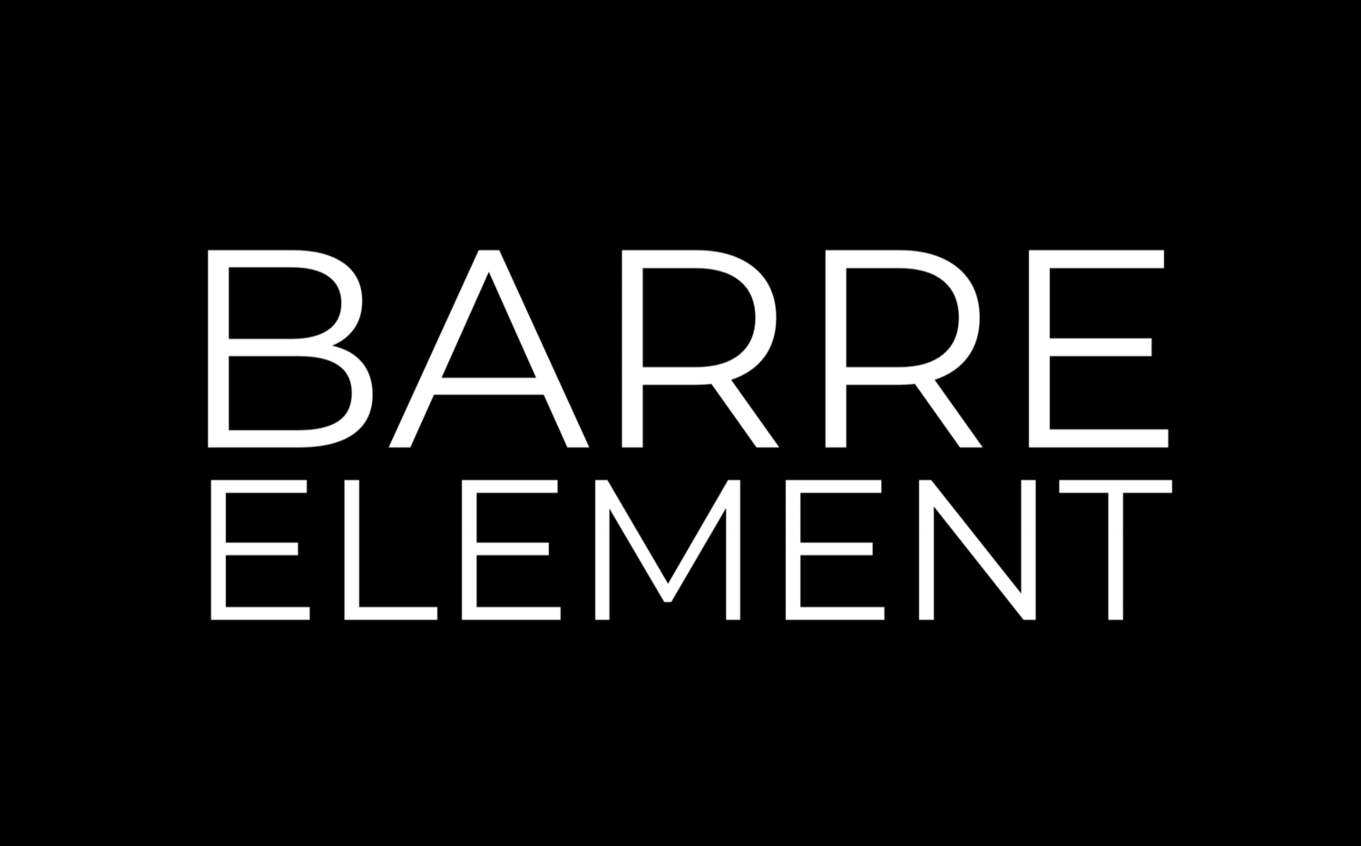 Barre Element