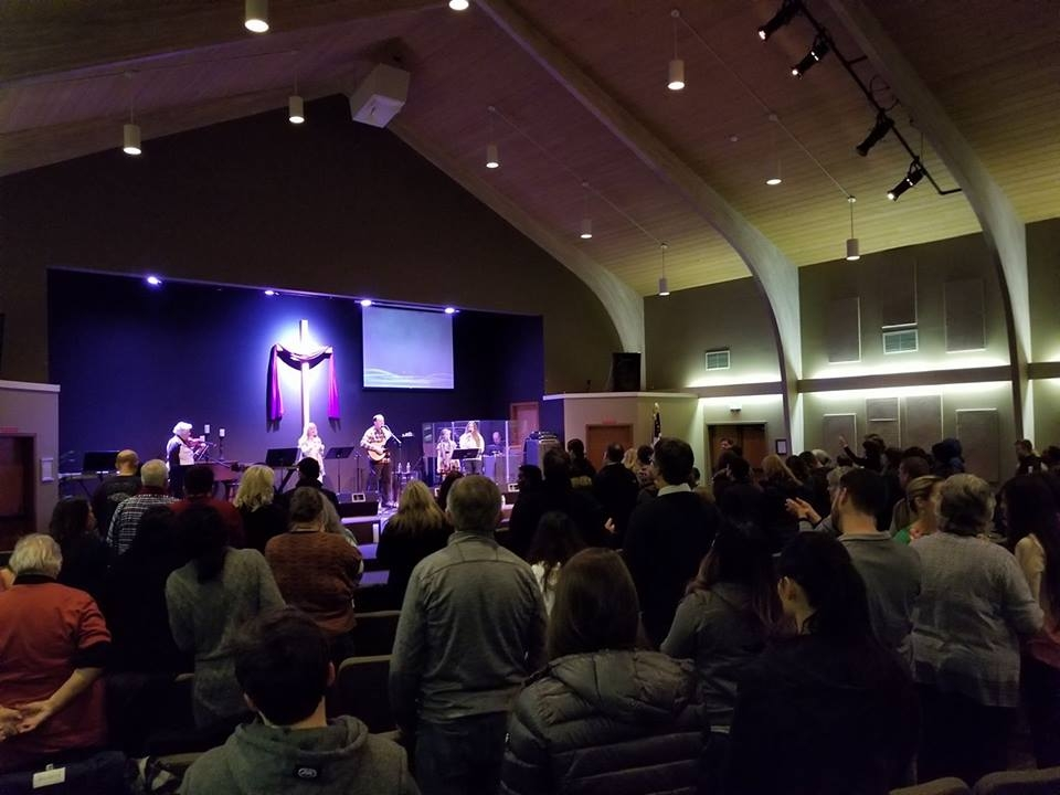 Spirit Filled Worship Service at the Rock Revival Center, Gig Harbor