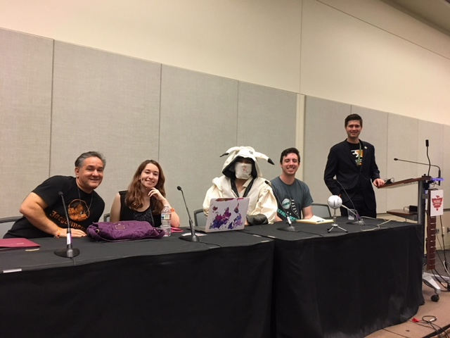 eSports Biz & Law - Couldn't be more proud of our team at Legal-Ease Podcast, especially Alex Becker, Amena Kheshtchin-Kamel,Gabriel Lim, and Andrew Thierywho took time out of their law school finals and bar examination preparation for a month now to put together a successful Phoenix Comic Fest eSports panel.We worked hard to make a truly wonderful eSports presentation and slideshow and it's all due to tremendous teamwork. Special thanks to Cisco Maldonadowho took time to travel from LA to attend our panel as a guest speaker on the panel and Episode 2 of our podcast & our podcast member Dominic Kearns for joining us to produce Episode 2 on eSports & the Law. It's not every day you see soon to be lawyers take on their own panel at any comic-con, but we just so happen to also be artists and gamers.Last but not least, our favorite part of this experience was making new friends. Thank you Phoenix Comic Fest staff for having us, and thank you Game On Expo for inviting us to do the same panel in August!Thanks to everyone who supported us this weekend!