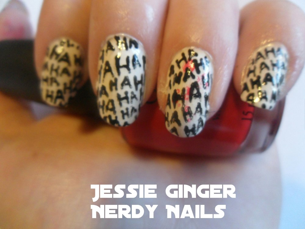 Joker Nail Art — A Ginger Nerd