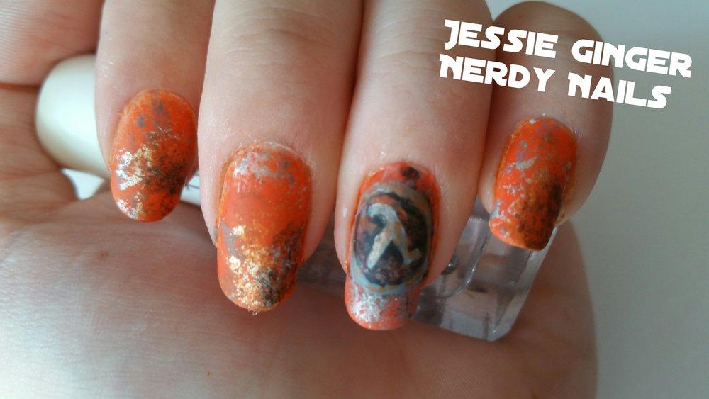 Half Life Nail Art Tutorial — A Ginger Nerd