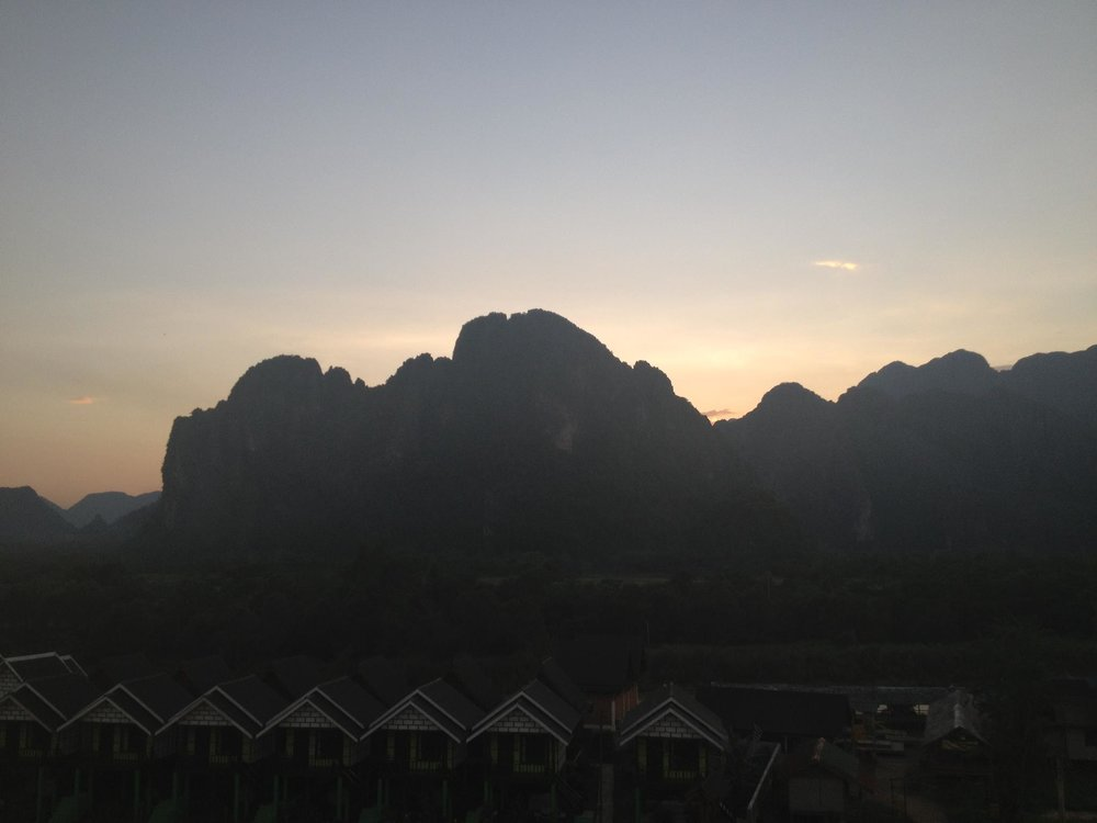 Mountains in Vang Vieng, Laos