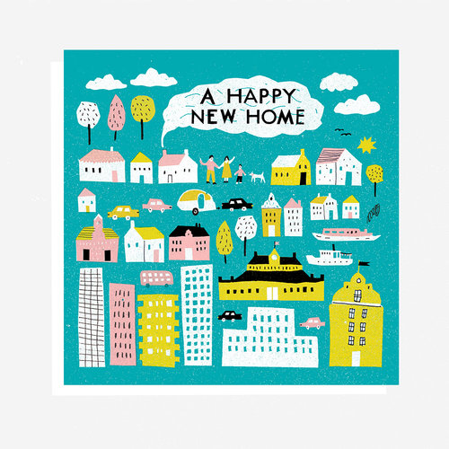 Happy new home greetings card paisley and friends happy new home greetings card m4hsunfo