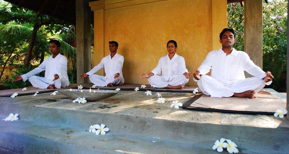 Power Retreat på Sri Lanka