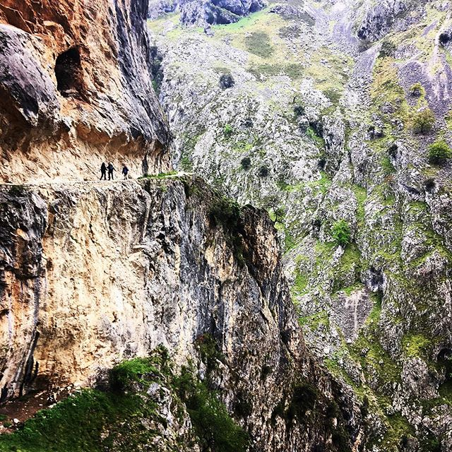Cannot believe how incredible the Picos are! Most amazing hike day on les cares #picosdeeuropa #spain #hiking #mountains #nature #adventure