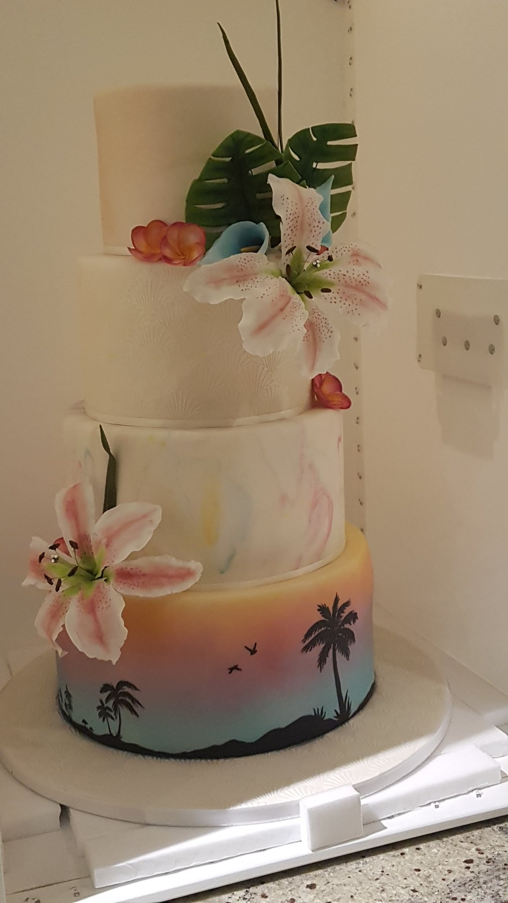 Airbrushed, Marbling, Sugar Flowers