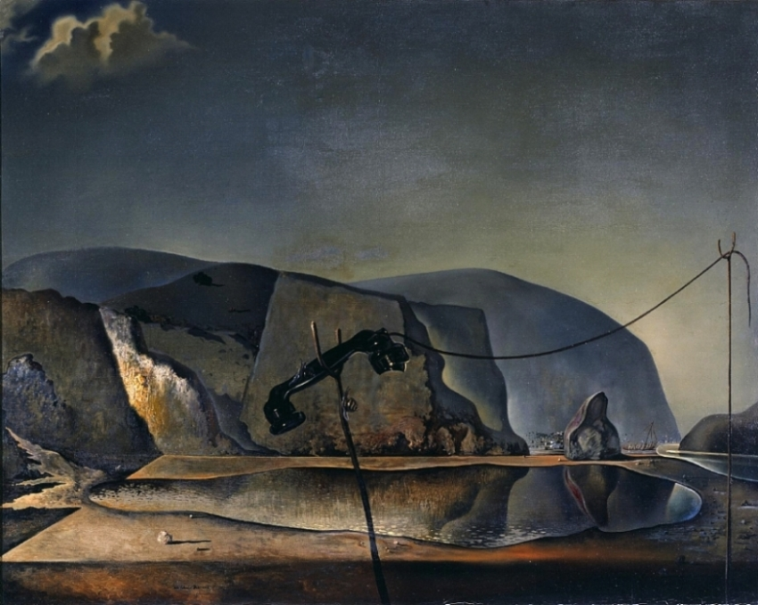 Mountain Lake.  Salvador Dali, 1938.