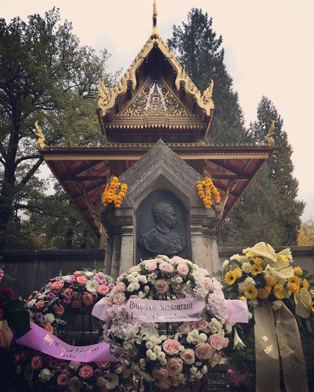 Memorial day of our RamaV 23.10.1910 🙏  #bangkokrestaurant#firstrestaurantinfrankfurt#thaiselectpremium#proudtobethai#badhomburgsalathai#tradition#