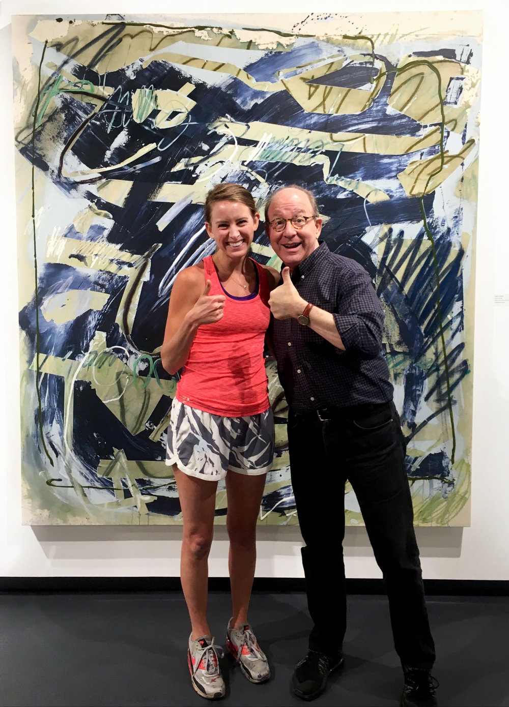 USF 41st Juried Art Exhibition - March 31 - April 14, 2017Let Her Eat Light was one of two paintings included in USF's juried exhibition at Carolyn M. Wilson Gallery during the spring of 2017. Art Critic Jerry Saltz even got to swing by and view the works, giving the show a thumbs up before heading back to NYC.