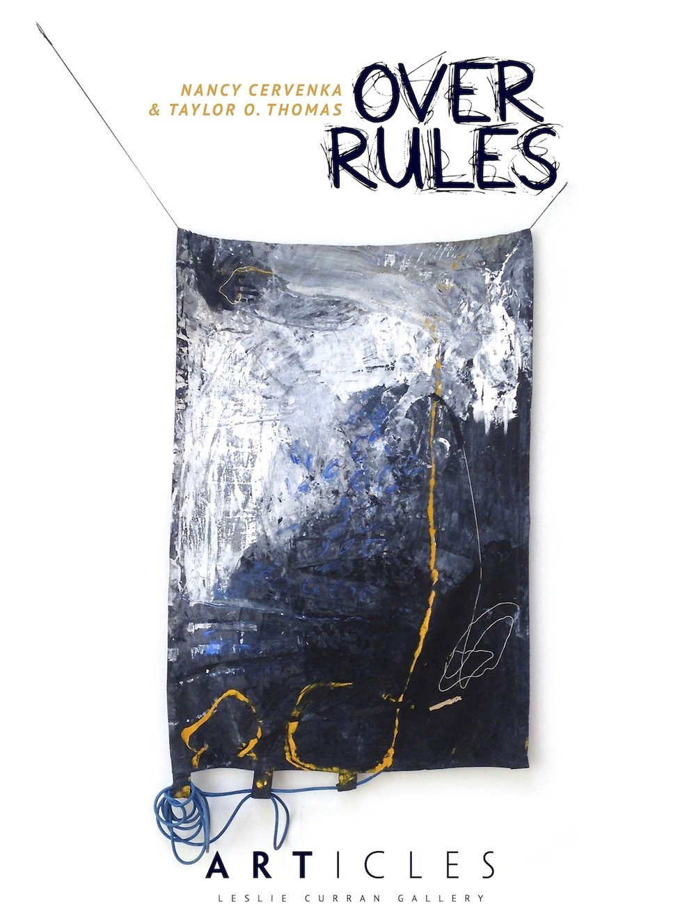 Over Rules - February 11 - March 10, 2016 Select works from my Autobiographies series will be shown at ARTicles Gallery in St. Petersburg, FL. The two person exhibition will include my paintings alongside the alluring sculptures of Nancy Cervenka.