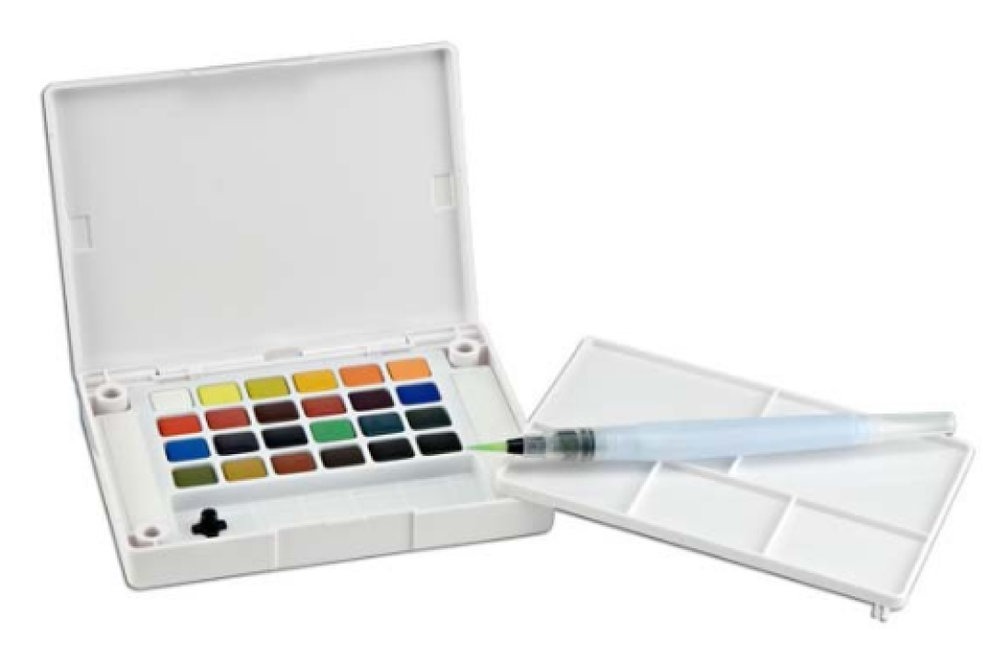 Koi Watercolor Pocket Field Sketch Box Set