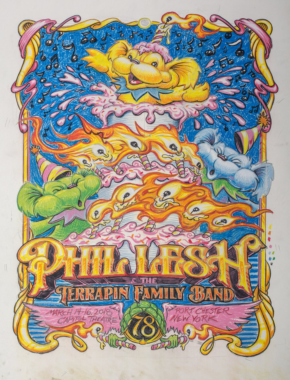 Phil Lesh 78th Birthday Celebration