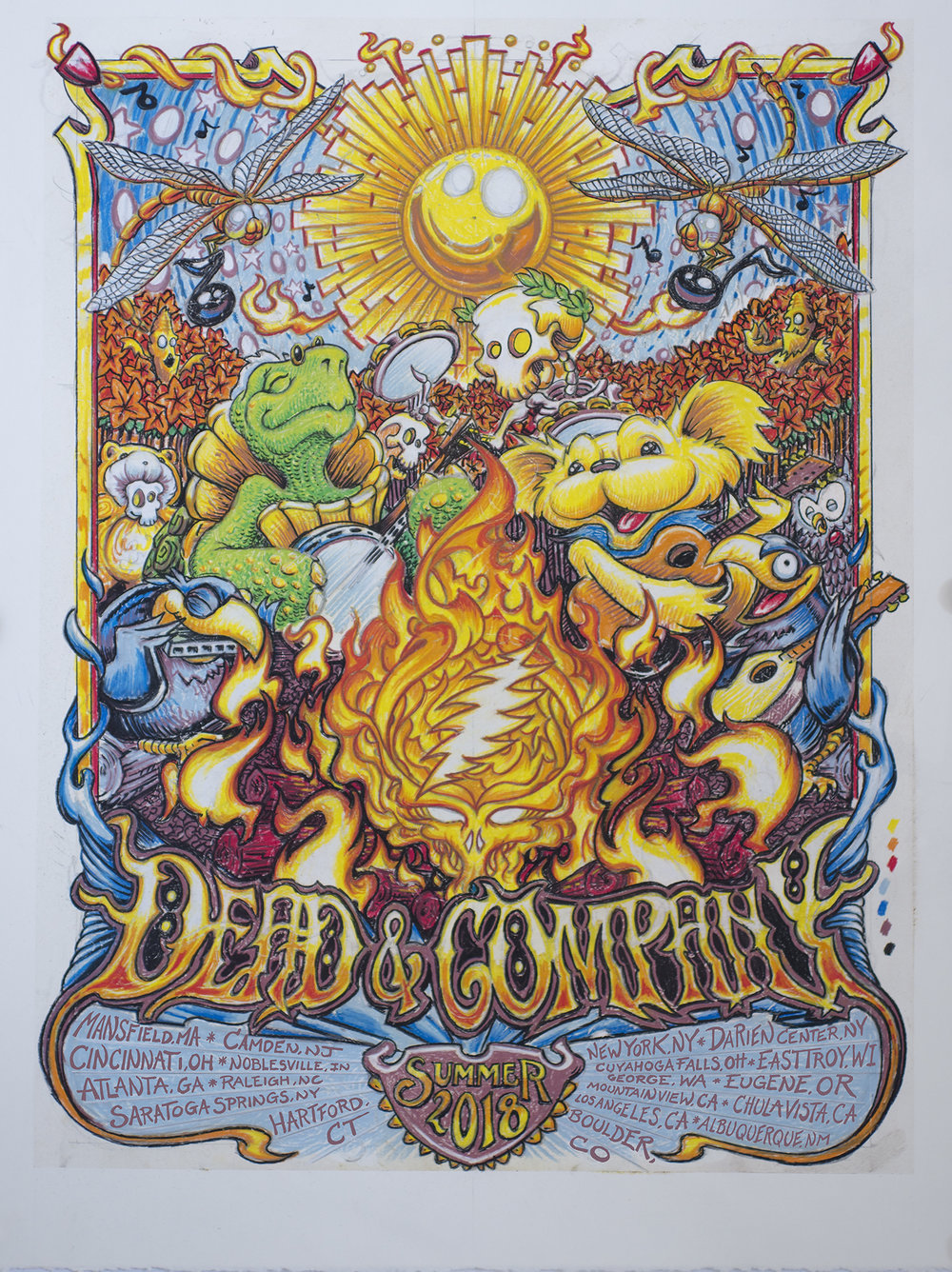 "Dead & Company Summer Tour 2018 ""Here Comes Sunshine"""