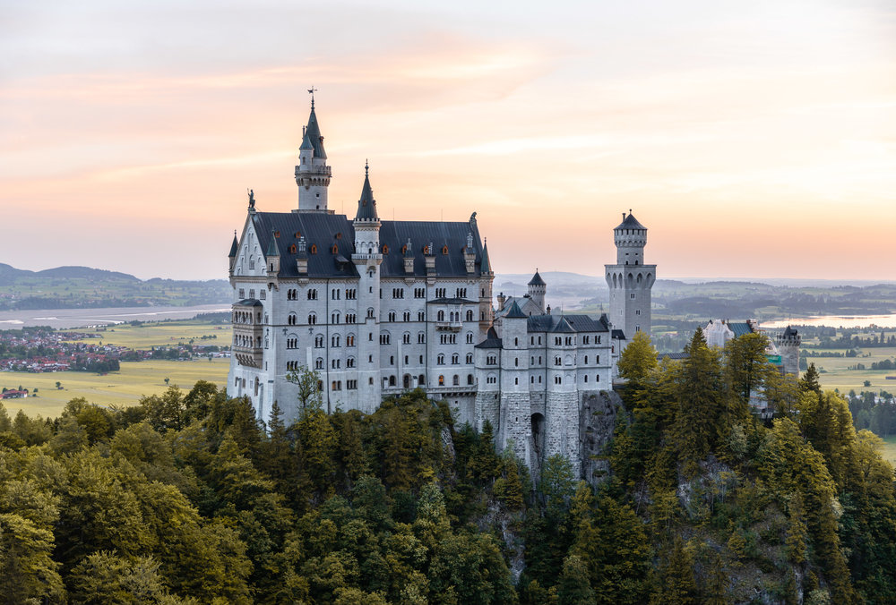 Neuschwanstein Castle by Mr Dyne