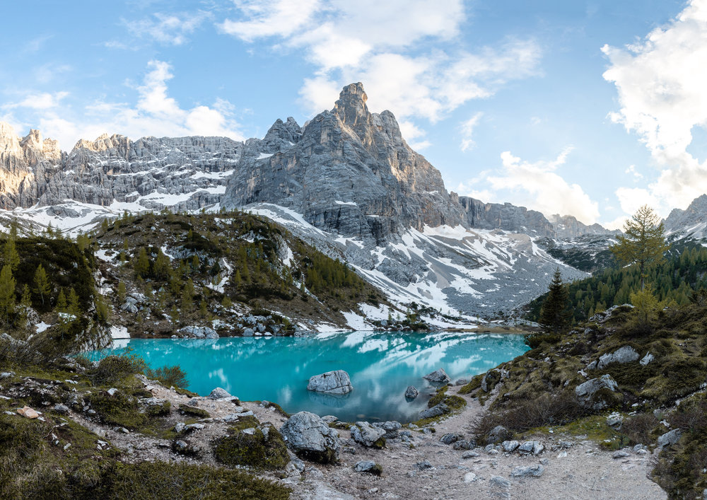 Lake Sorapis by Mr Dyne
