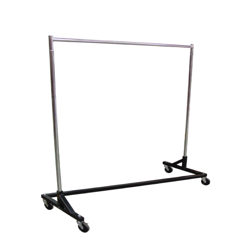 Rolling Z Rack Garment Rack  |  Atlanta Party Rentals