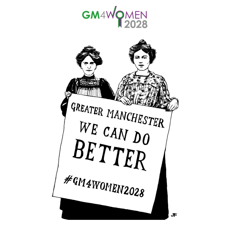 Launch of #GM4Women2028, Pankhurst-Fawcett Scorecard -