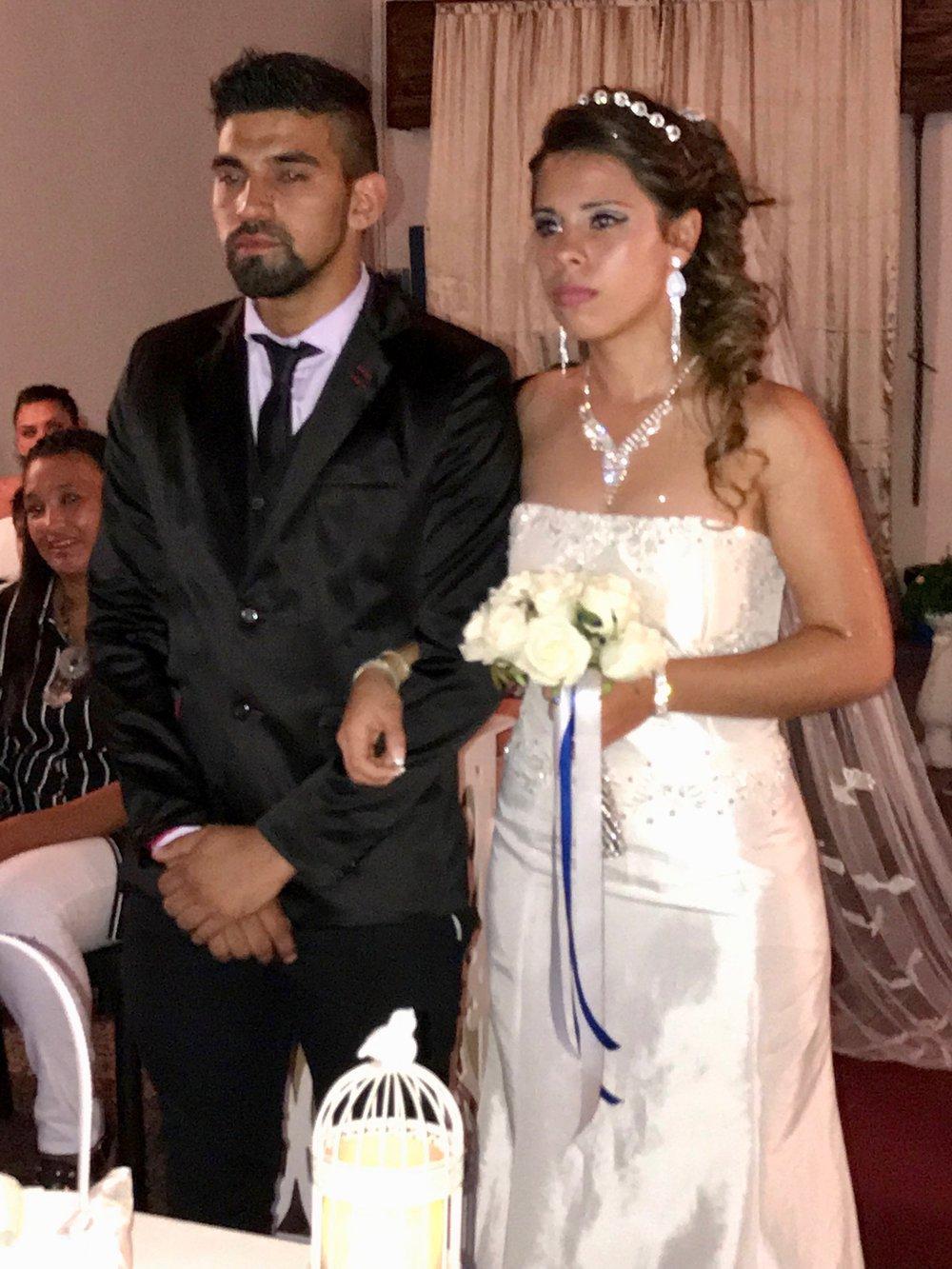 bruno y dai casamiento