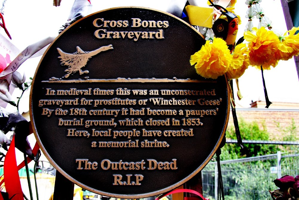 The Bronze Plaque (photo by Max Reeves)