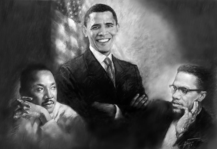 Martin, Obama, Malcolm: Spot the clown and paid agent of imperialism