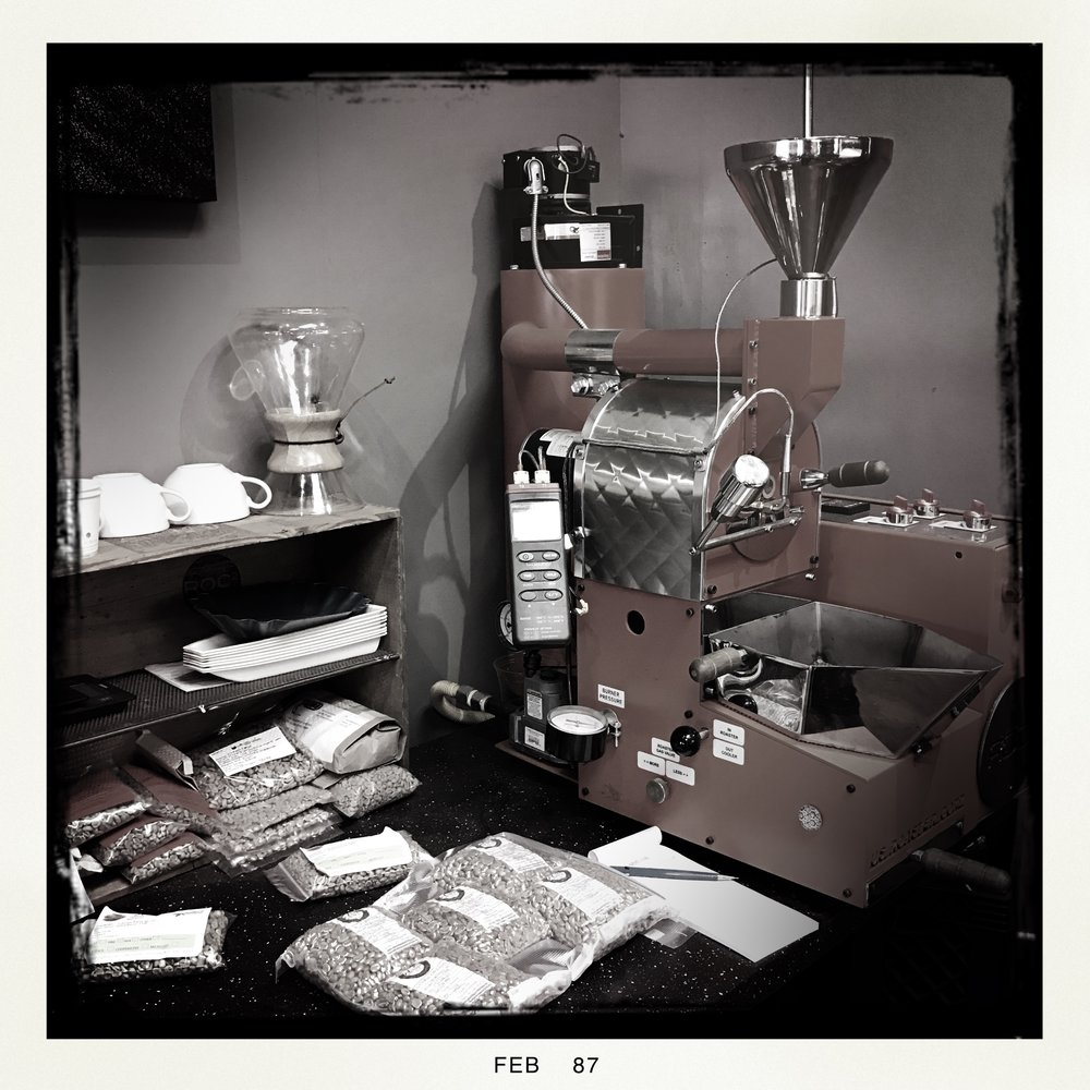 Roc2 coffee lab