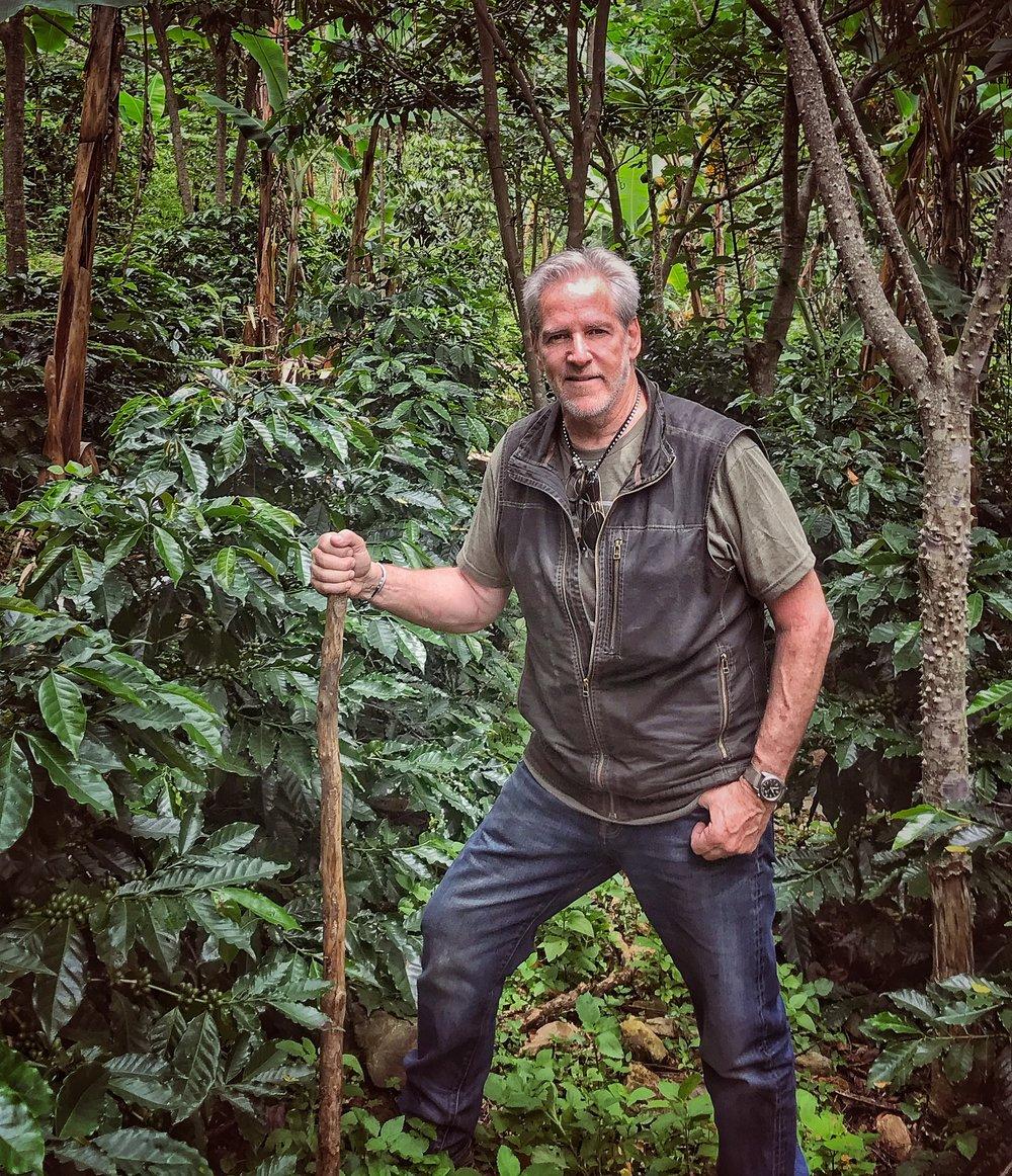 Deep in an Ecuadorian rain forest