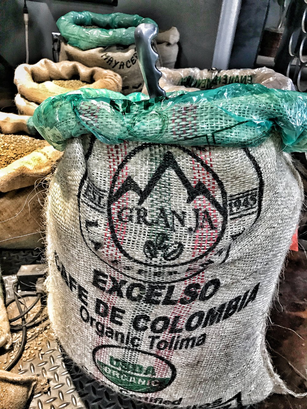 amazing coffee from granja esperanza - colombia