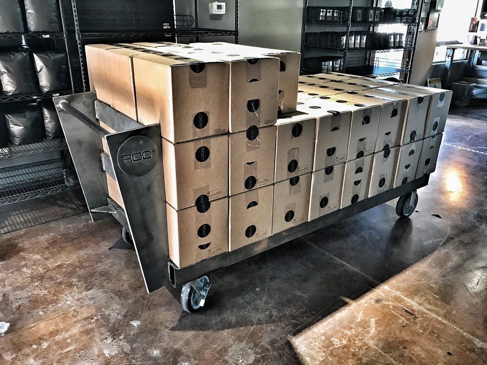 roc2 custom cart - capacity 4800lbs