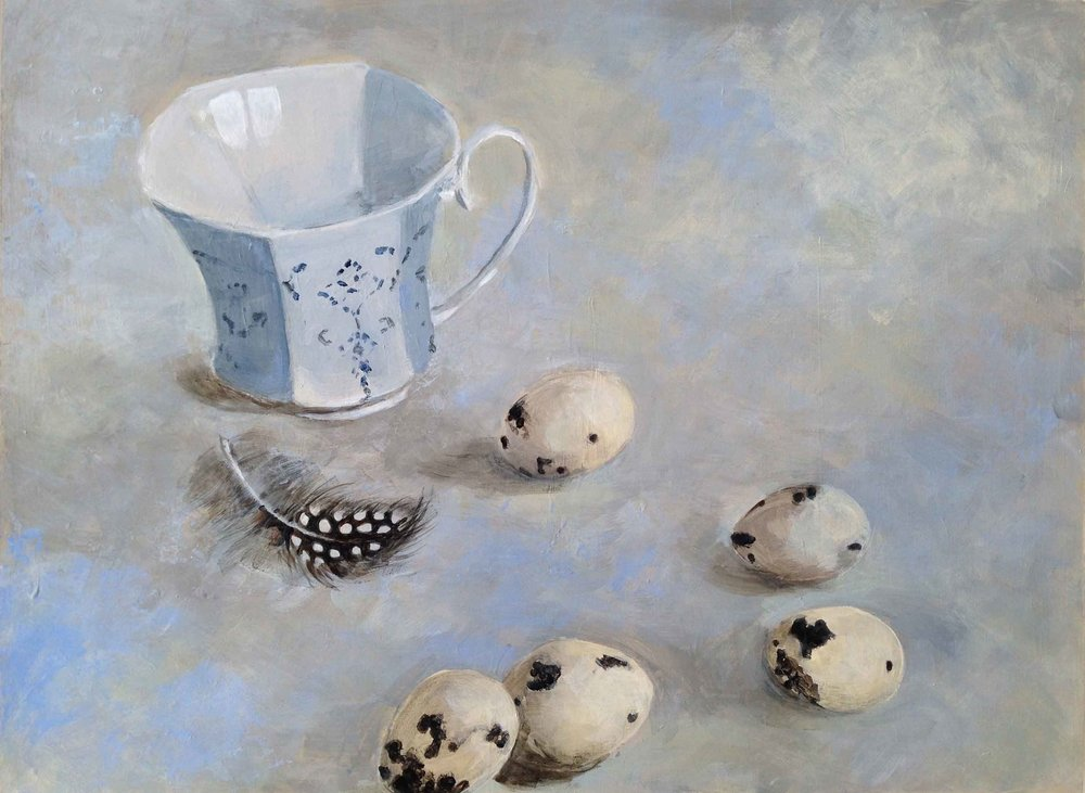 Russian Cup and Quails' Eggs