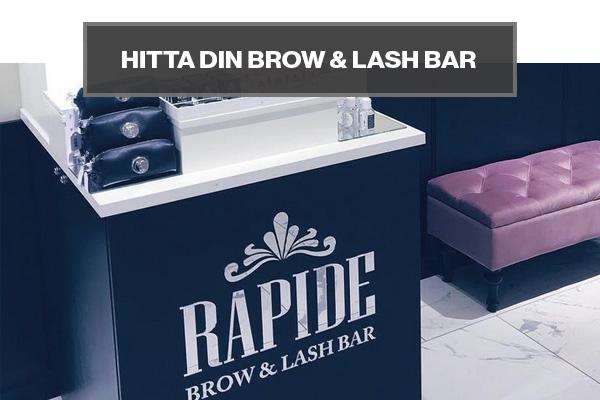 Hitta närmaste Brow & Lash bar.