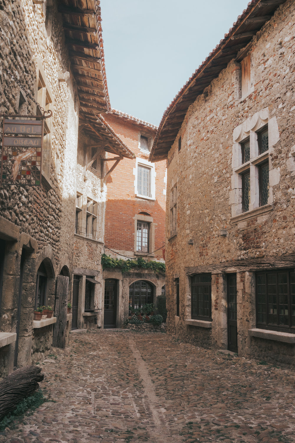 Perouges Medieval Town in France #SmallVillage #France