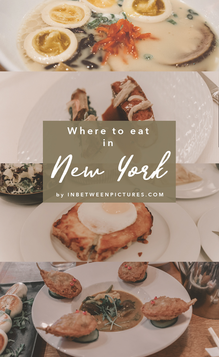 Where to eat in NYC - 7 Places You Must Try In New York City - A foodie's guide to the big apple. Recommendations from upscale Michelin star restaurants to the recently featured eatery on the Netflix's show, Ugly Delicious.