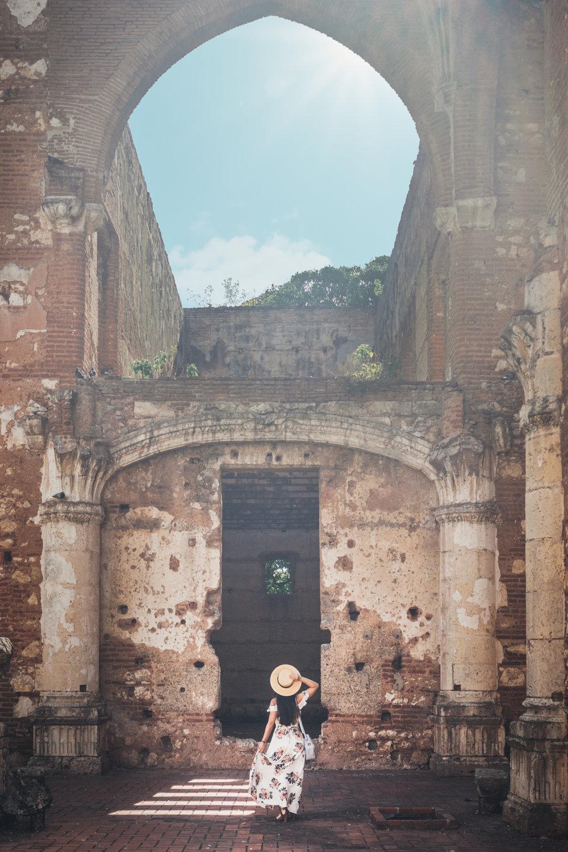 First monastery in America The New World- Santo Domingo, Dominican Republic historical landmark