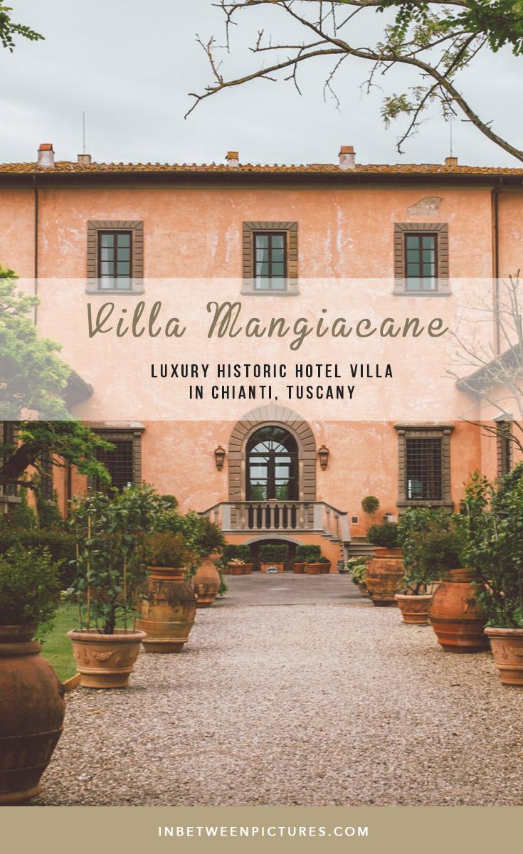 Villa Mangiacane, Luxury Historic Hotel Villa In Chianti, Tuscany
