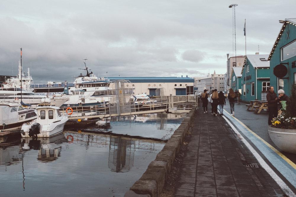 Reykjavik harbor Iceland Ring Road Itinerary