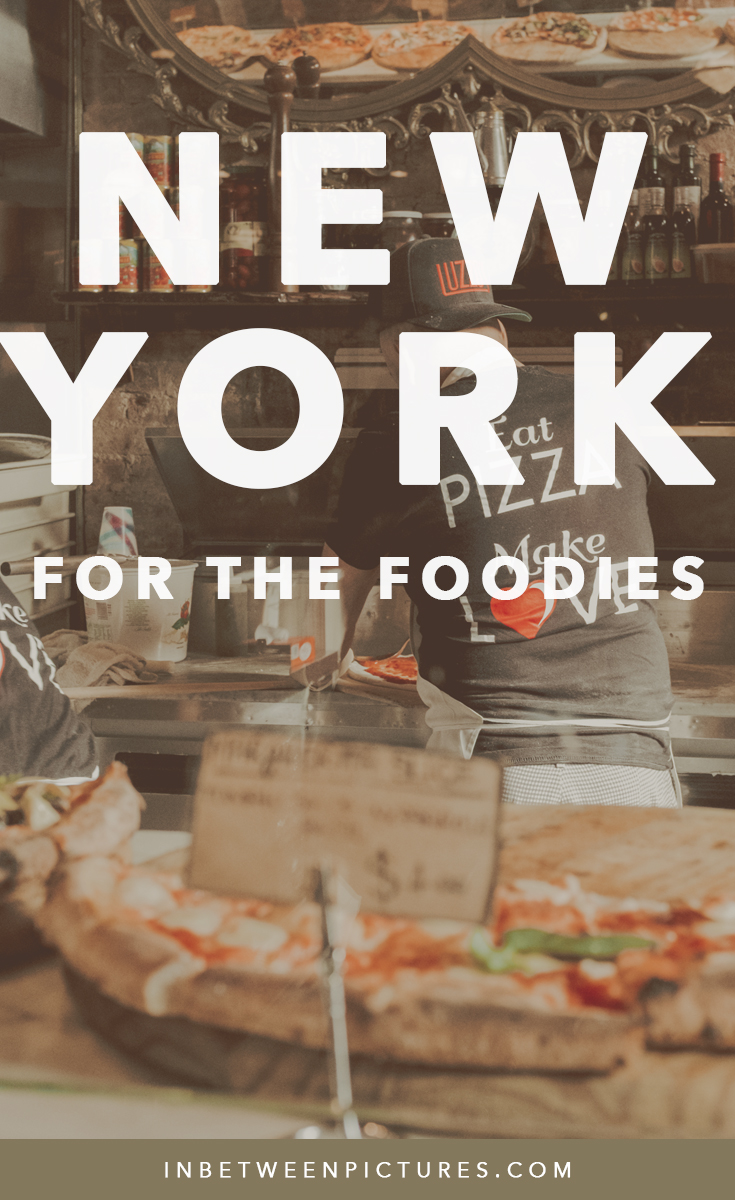 NYC Itinerary For The Foodies