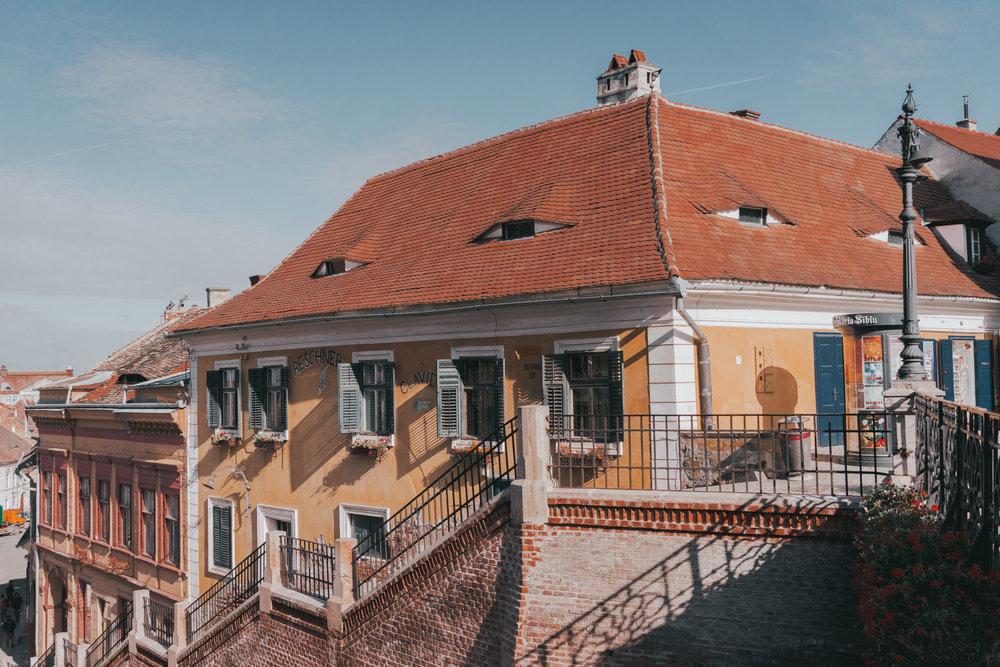 Liar Bridge Sibiu Romania