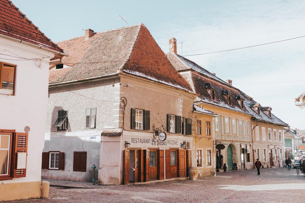 Sibiu Lower Town Romania