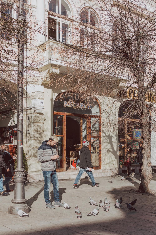Strada Nicolae Balcescu Romania