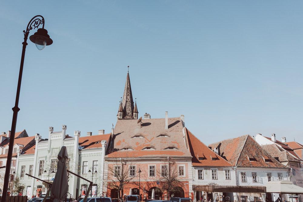 Piata Mare Plaza Sibiu Romania