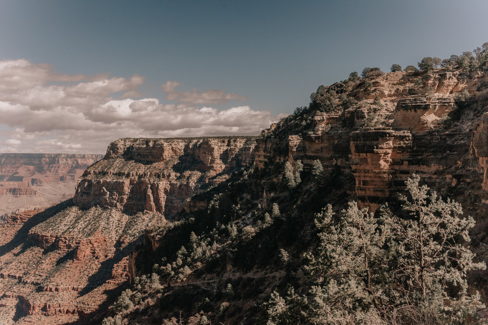 Bright Angel Trail - Grand Canon South Rim
