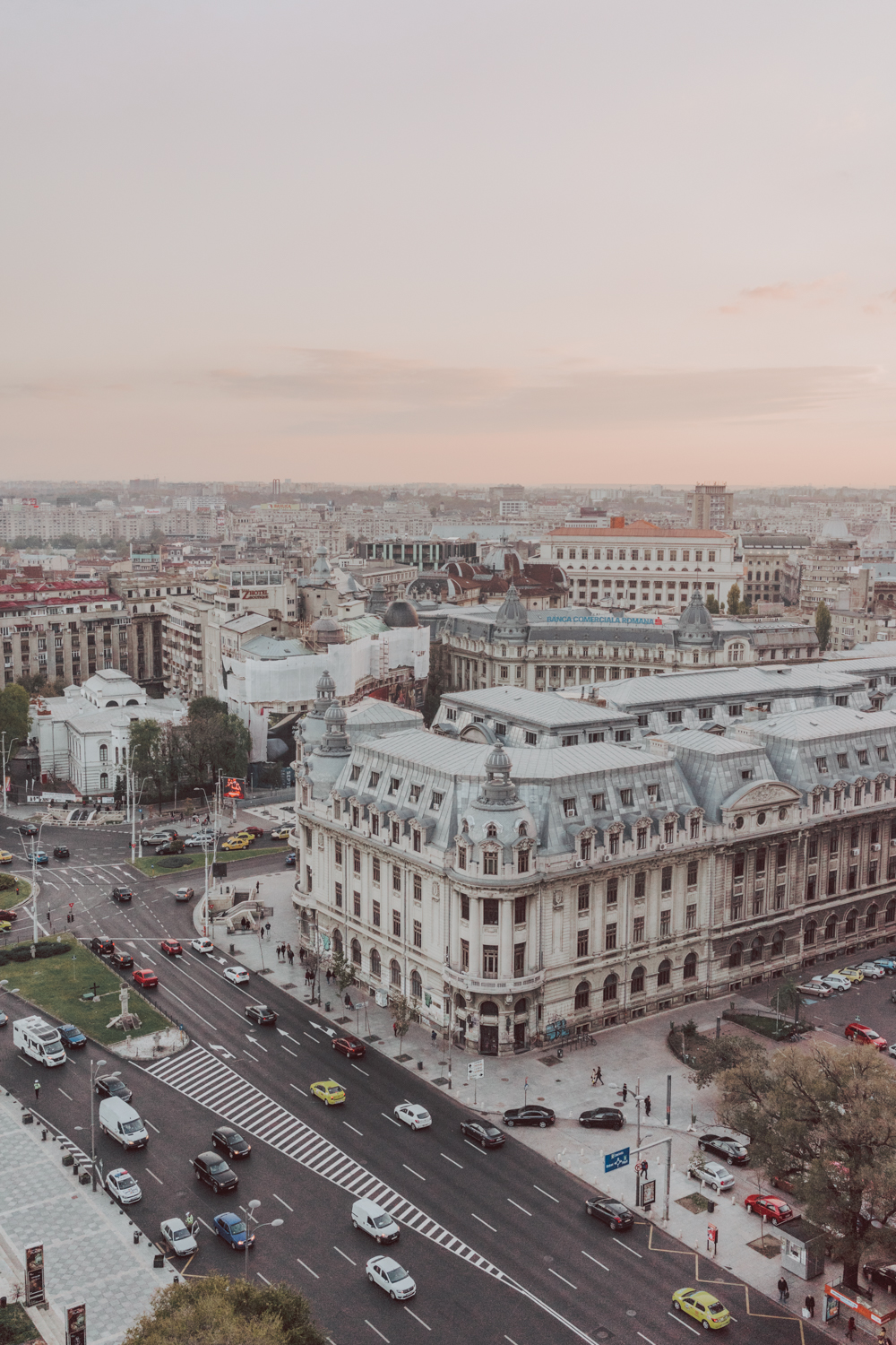 Intercontinental Hotel Bucharest Balcony View