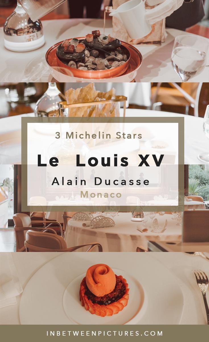 Complete experience dining at 3 Michelin Stars Restaurant - Alain Ducasse Le Louis XV in à l'Hôtel de Paris, Monaco